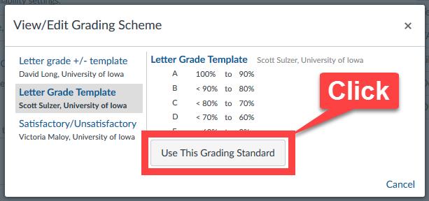 Change Grade Scheme 4