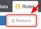 Roles Remove