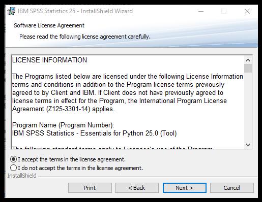 Spss Single License Install Instructions V25 Windows Information