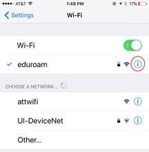 How do I remove or forget a wireless network? | Information
