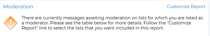 list moderation
