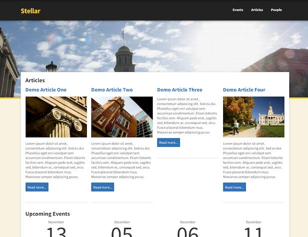 SiteNow website using SiteNow Background Image app