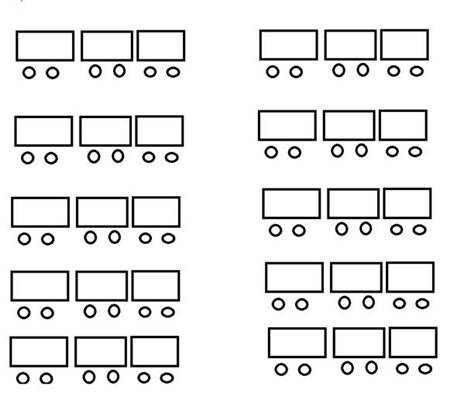 Arrangement of tables and chairs